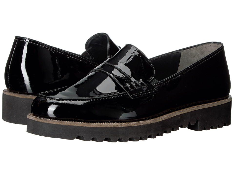 Paul Green - Kianna (Black Patent) Women's Slip on Shoes
