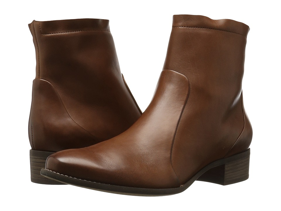 Paul Green - Kal Boot (Nougat Leather) Women's Dress Boots