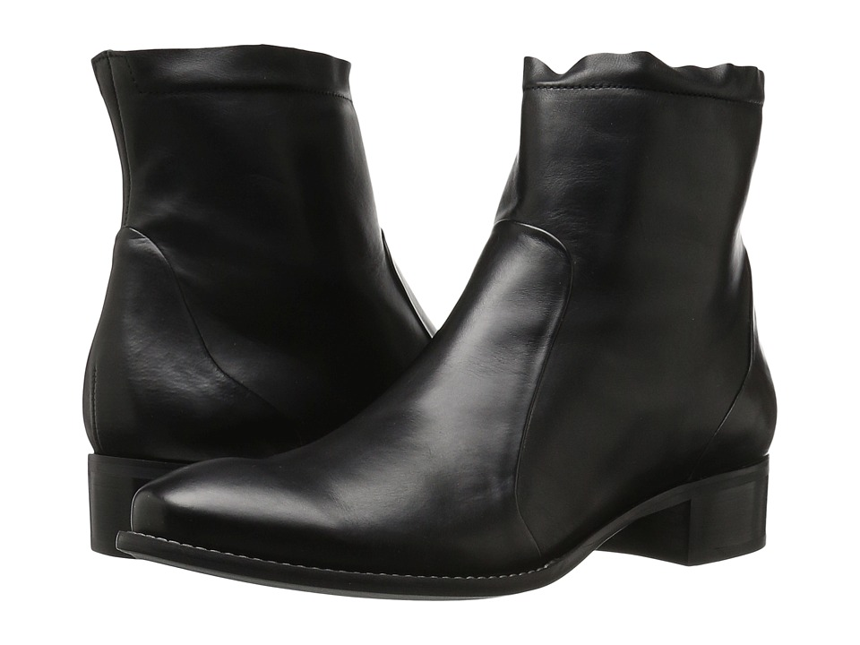 Paul Green Kal Boot (Black Leather) Women