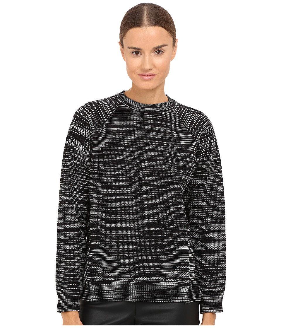 M Missoni - Spacedye Sweater (Black) Women's Sweater