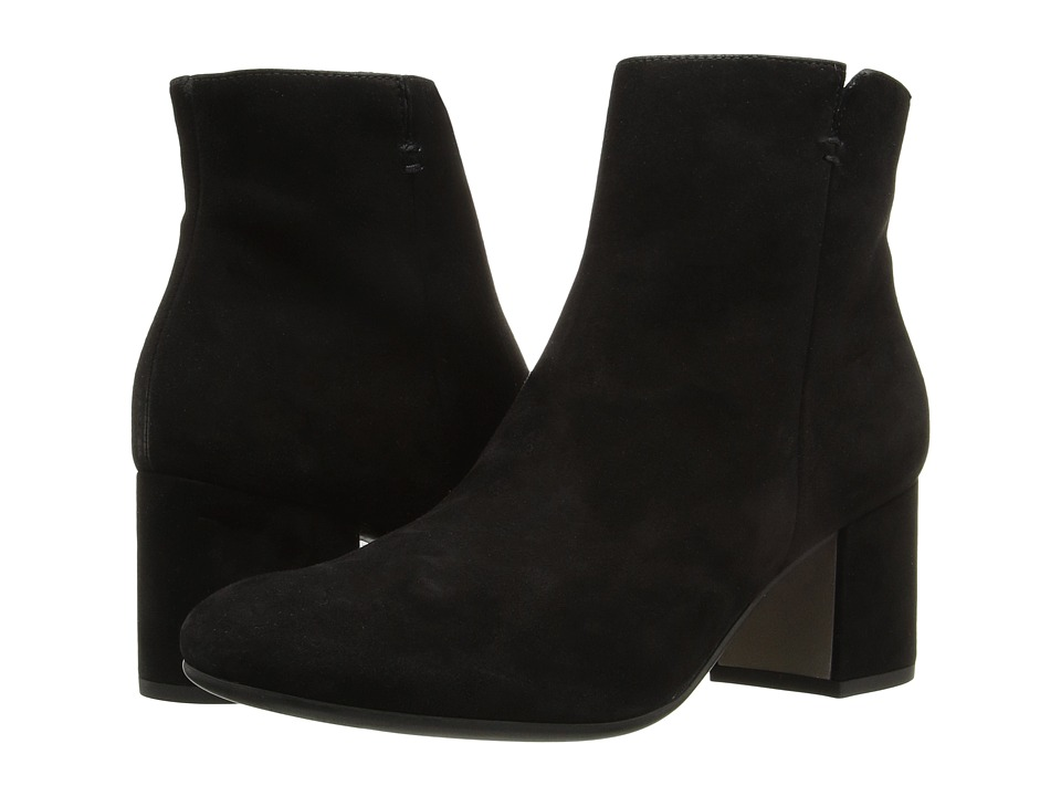 Paul Green Kitt (Black Suede) Women