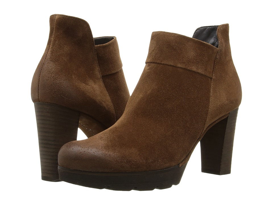 Paul Green - Alissa (Oak Suede) Women's Zip Boots