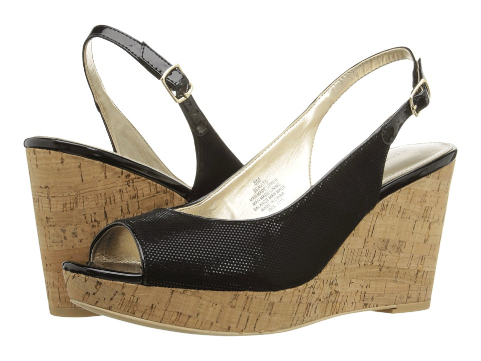 Bandolino - Avito (Black Fabric) Women's Shoes