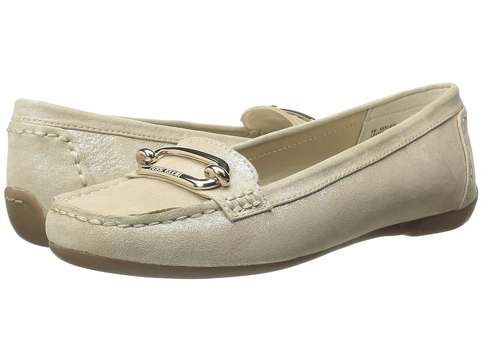Anne Klein - Noris (Light Gold/Light Gold Suede) Women's Shoes