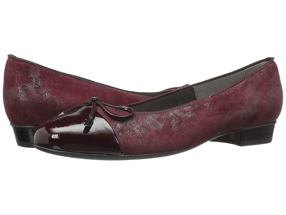 ara Betty (Burgundy Metallic/Patent) Women