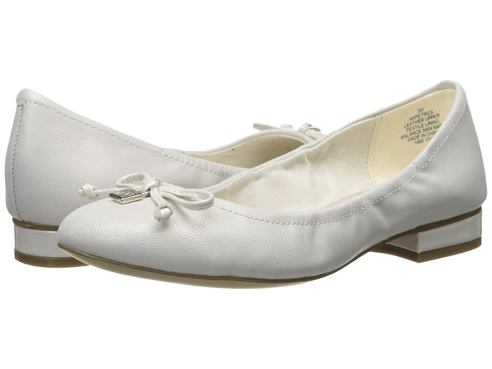 Anne Klein - Petrica (White Leather) Women's Flat Shoes