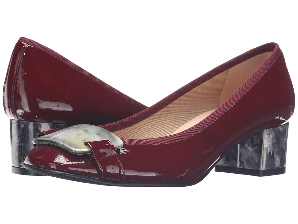 French Sole - Royal (Wine Patent) Women's Shoes
