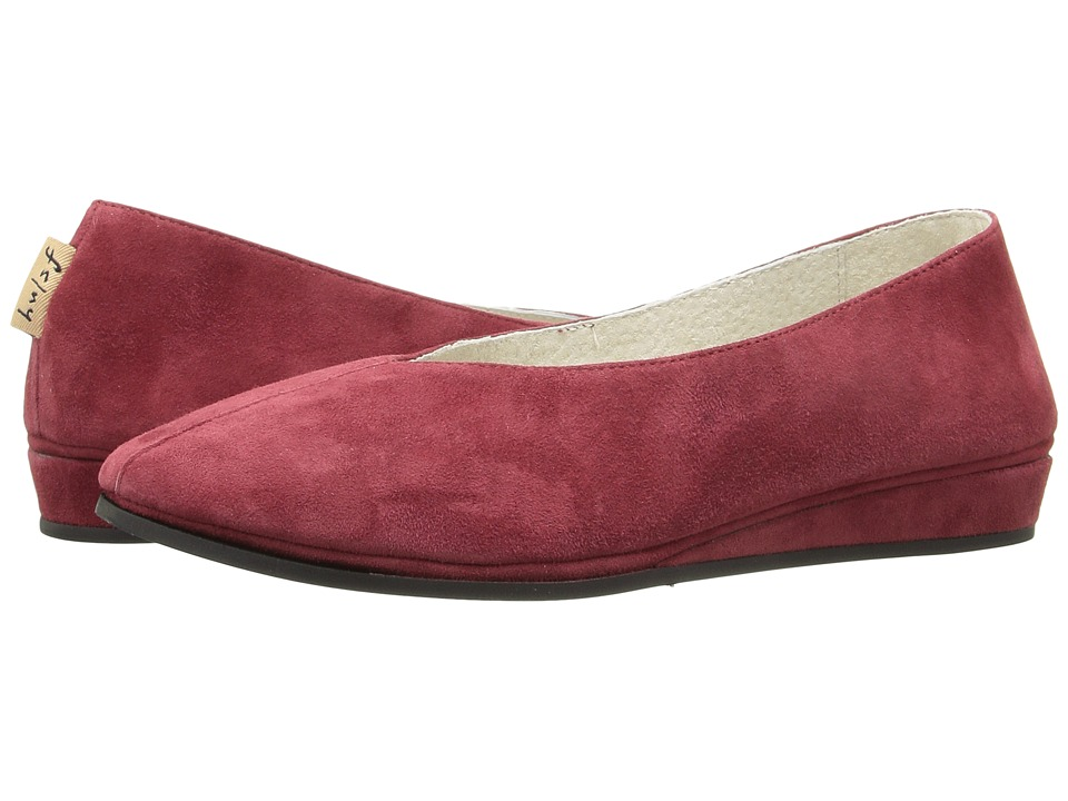 French Sole Split (Wine Suede) Women