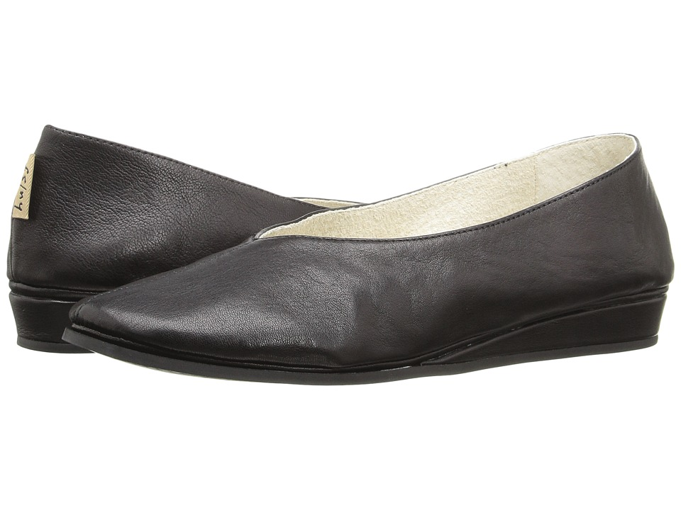 French Sole Split (Black Nappa) Women