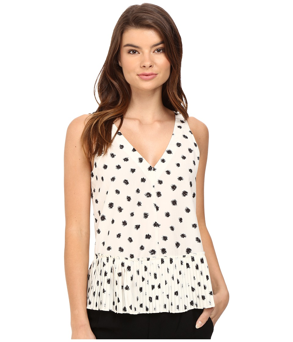 Rebecca Taylor - Dandelion Top (Chalk/Black) Women's Clothing