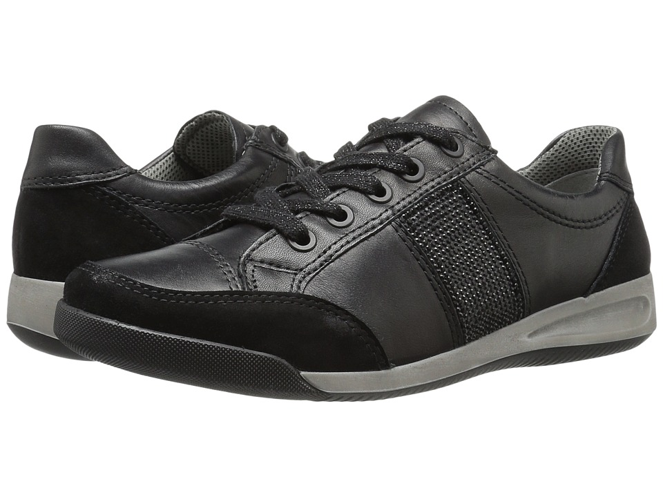 ara - Rickie (Black Leather) Women's Shoes
