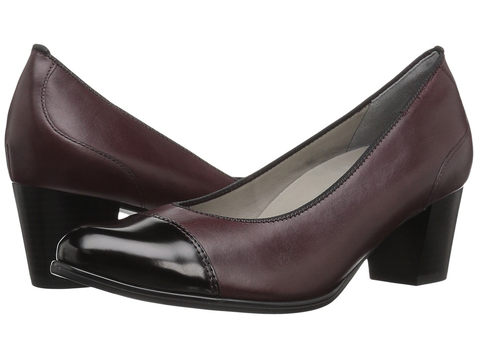 ara Mckinlely (Burgundy Leather) Women's Shoes