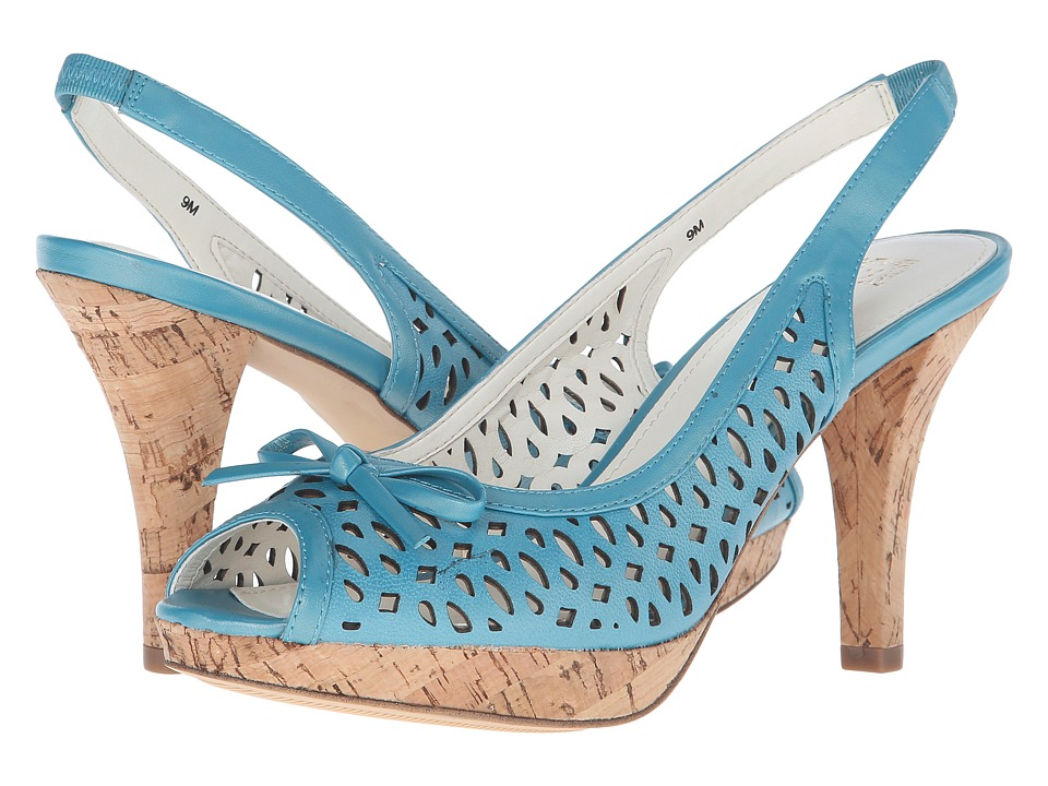 Anne Klein - Ristina (Turquoise/Turquoise Leather) Women's Shoes