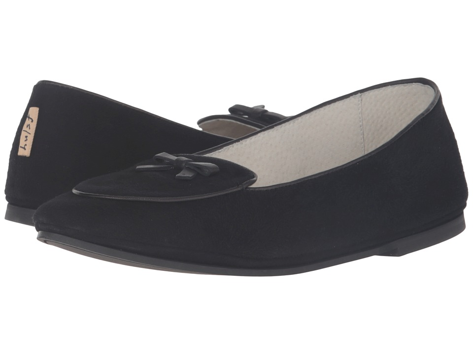 French Sole Sweet (Black Suede) Women