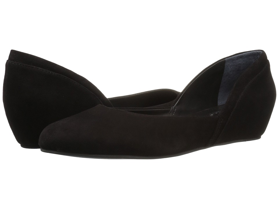 Bernardo - Nakita (Black Suede) Women's Wedge Shoes