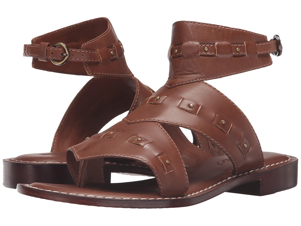 Bernardo - Teddi (Luggage Vintage Calf) Women's Sandals