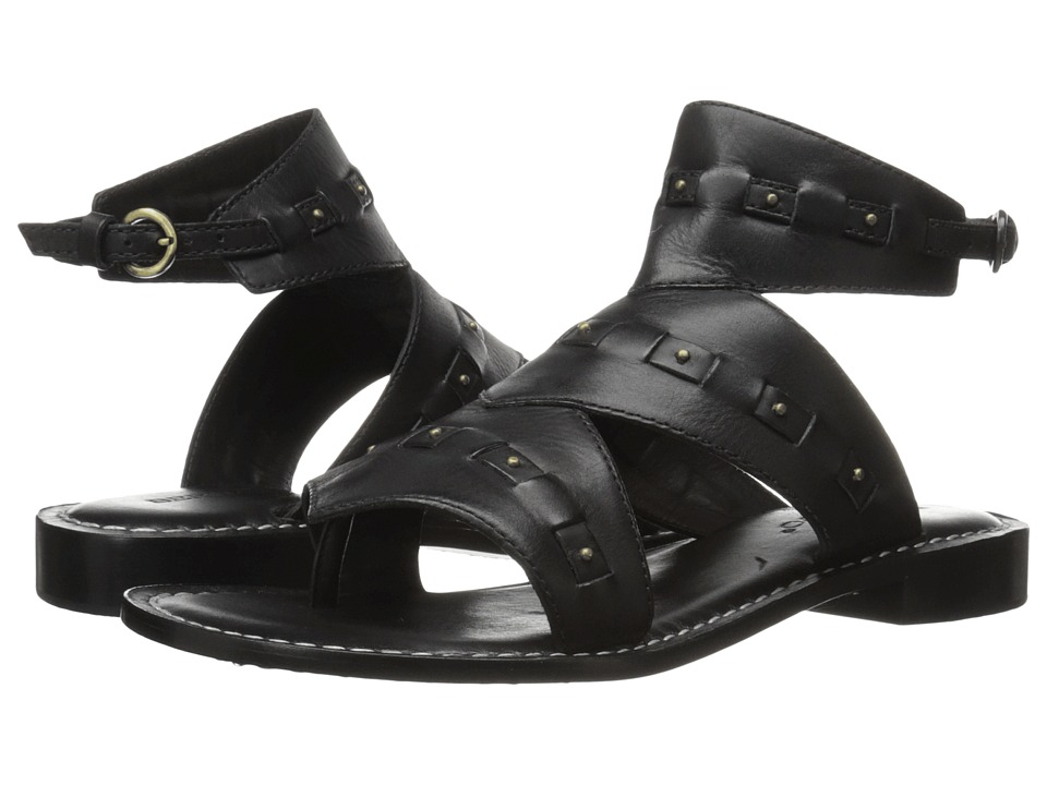 Bernardo - Teddi (Black Vintage Calf) Women's Sandals