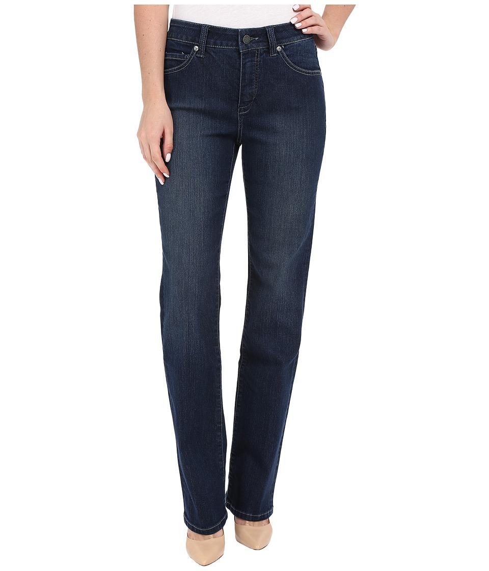Miraclebody Jeans Six-Pocket Abby Straight Leg Jeans in Seattle Blue (Seattle Blue) Women