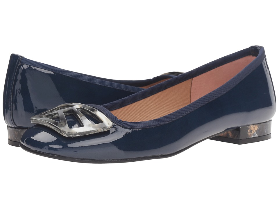 French Sole Talisman (Navy Patent) Women