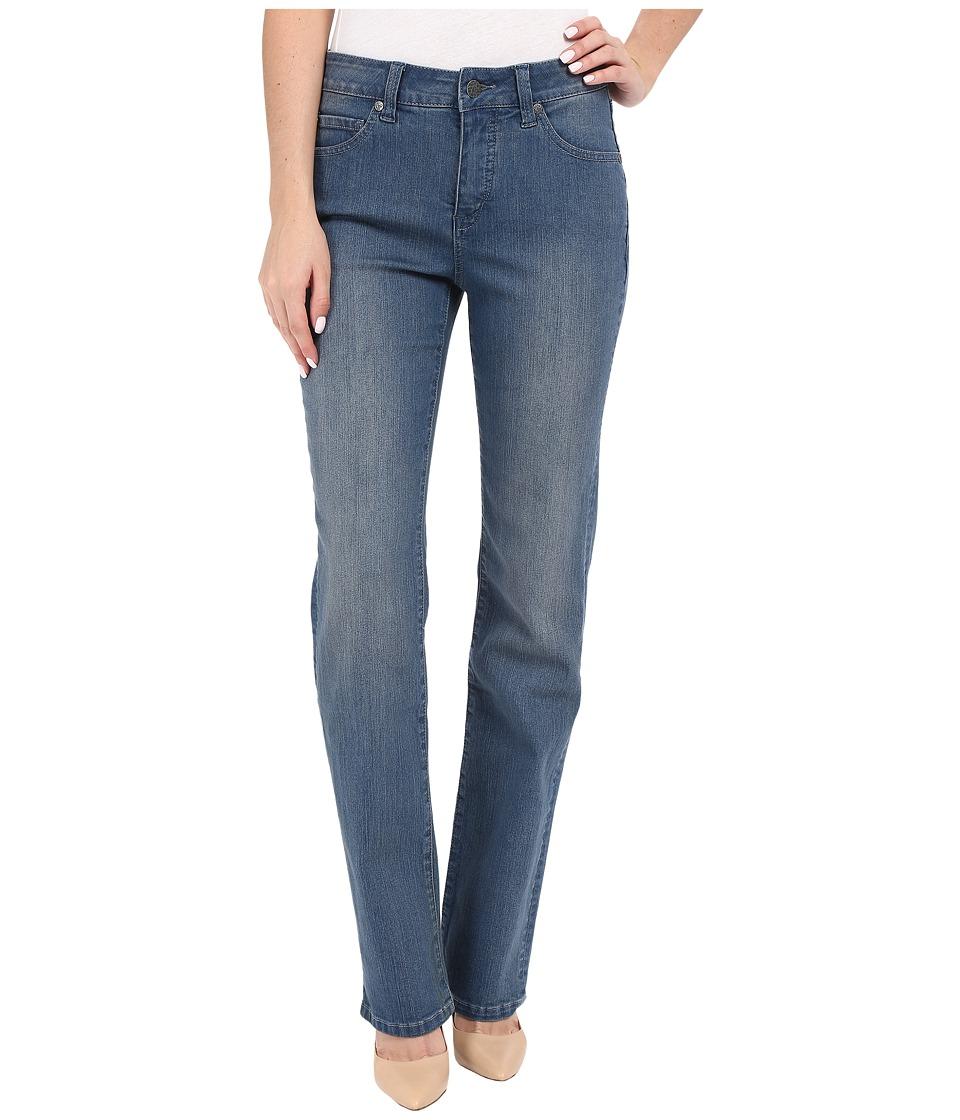 Miraclebody Jeans Six-Pocket Abby Straight Leg Jeans in Bainbridge Blue (Bainbridge Blue) Women