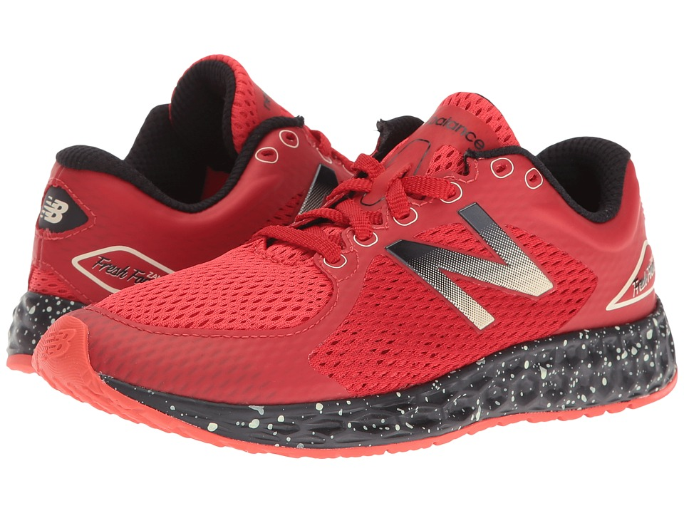 New Balance Kids - KJZNTv2 (Little Kid/Big Kid) (Red/Black) Boys Shoes