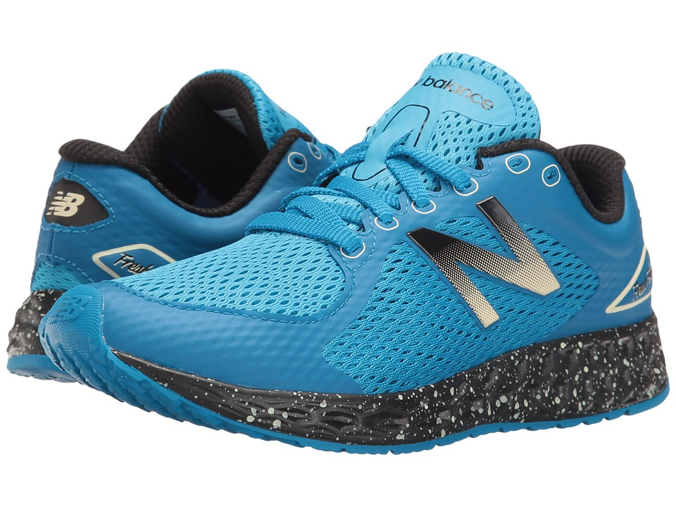 New Balance Kids KJZNTv2 (Little Kid/Big Kid) (Blue/Black) Boys Shoes