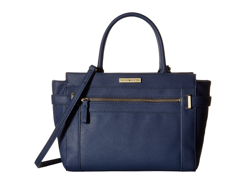 Tommy Hilfiger - Savanna - Convertible Shopper (Navy) Convertible Handbags