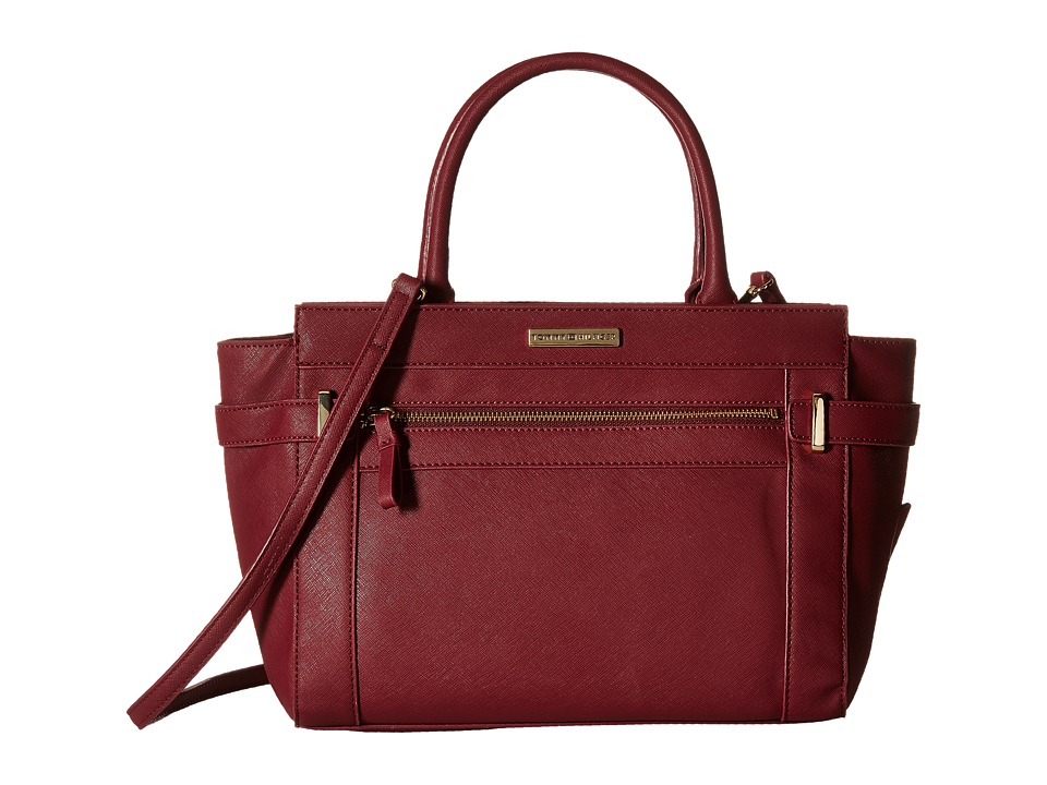 Tommy Hilfiger - Savanna - Convertible Shopper (Cabernet) Convertible Handbags