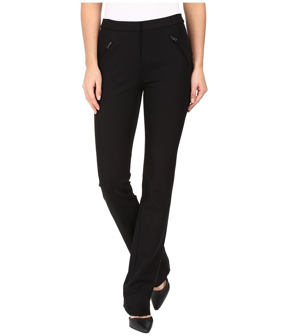 Rebecca Taylor - Twill Pants (Black) Women's Casual Pants