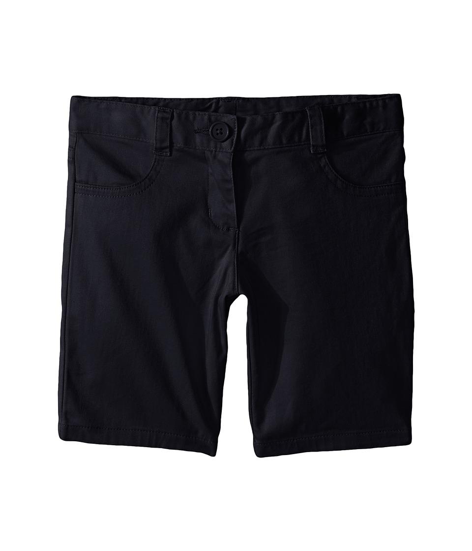 Nautica Kids - Girls Plus Five-Pocket Shorts (Big Kids) (Su Navy) Girl's Shorts