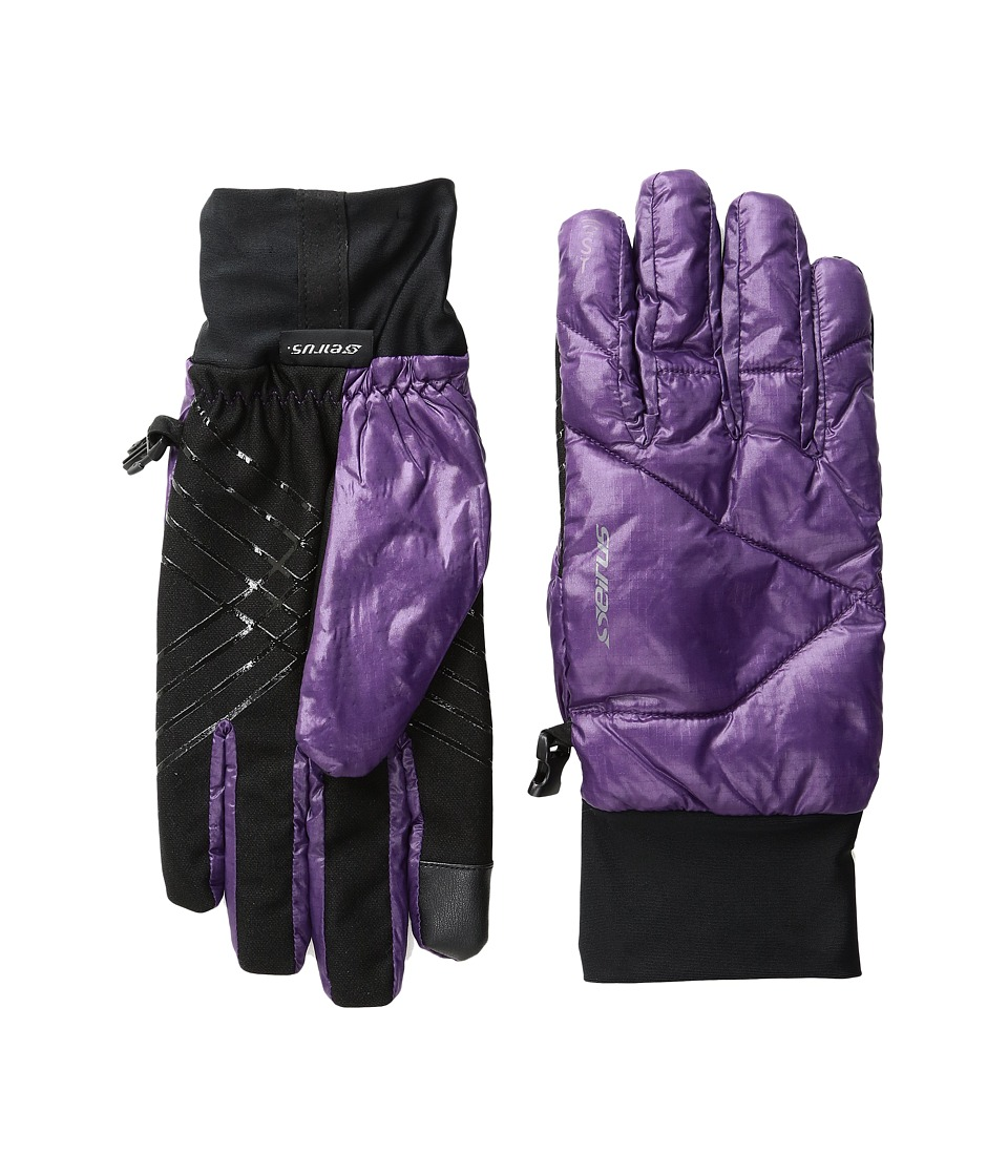 Seirus Solarsphere Ace Gloves (Plum) Ski Gloves