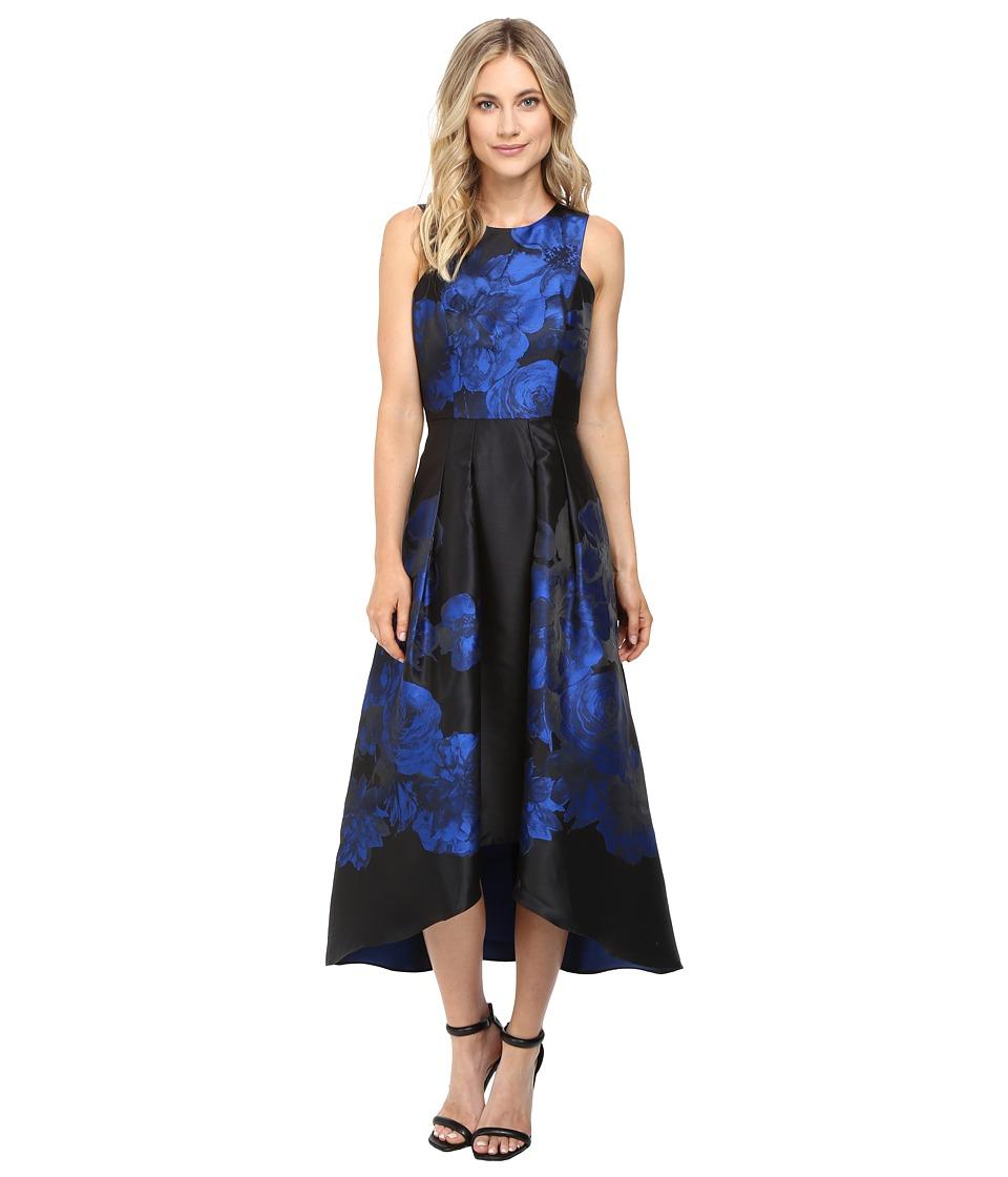 Shoshanna - Coraline High-Low Dress (Jet Multi) Women's Dress