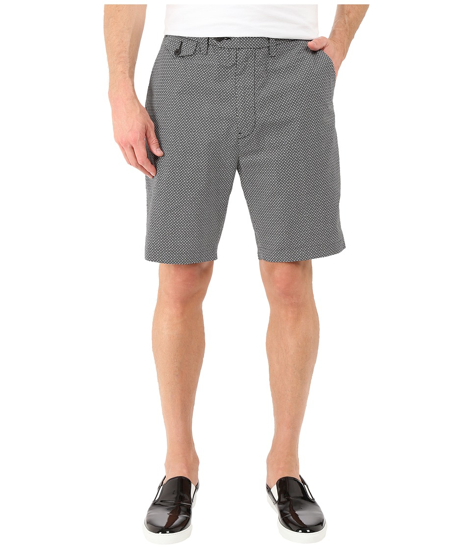 Nautica Geo Print Shorts (True Black) Men
