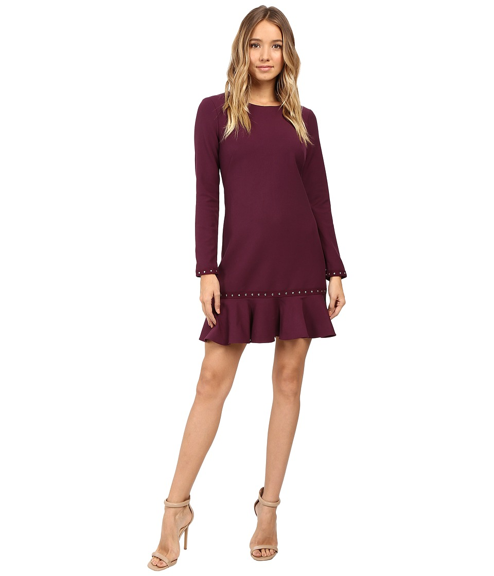 Shoshanna - Melina Dress (Aubergine) Women's Dress