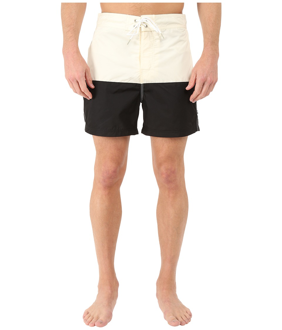 Nautica - Pieced Color Block Trunk (Sail Cream) Men's Swimwear
