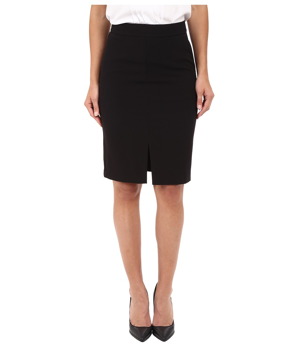 kensie - Stretch Crepe Pencil Skirt KS2K6221 (Black) Women's Skirt