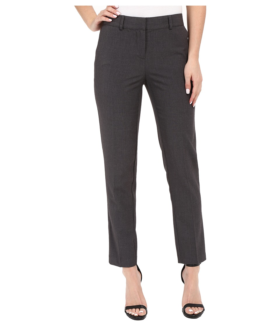 kensie - Heather Stretch Crepe Pants KS2K1278 (Heather Dark Grey) Women's Dress Pants