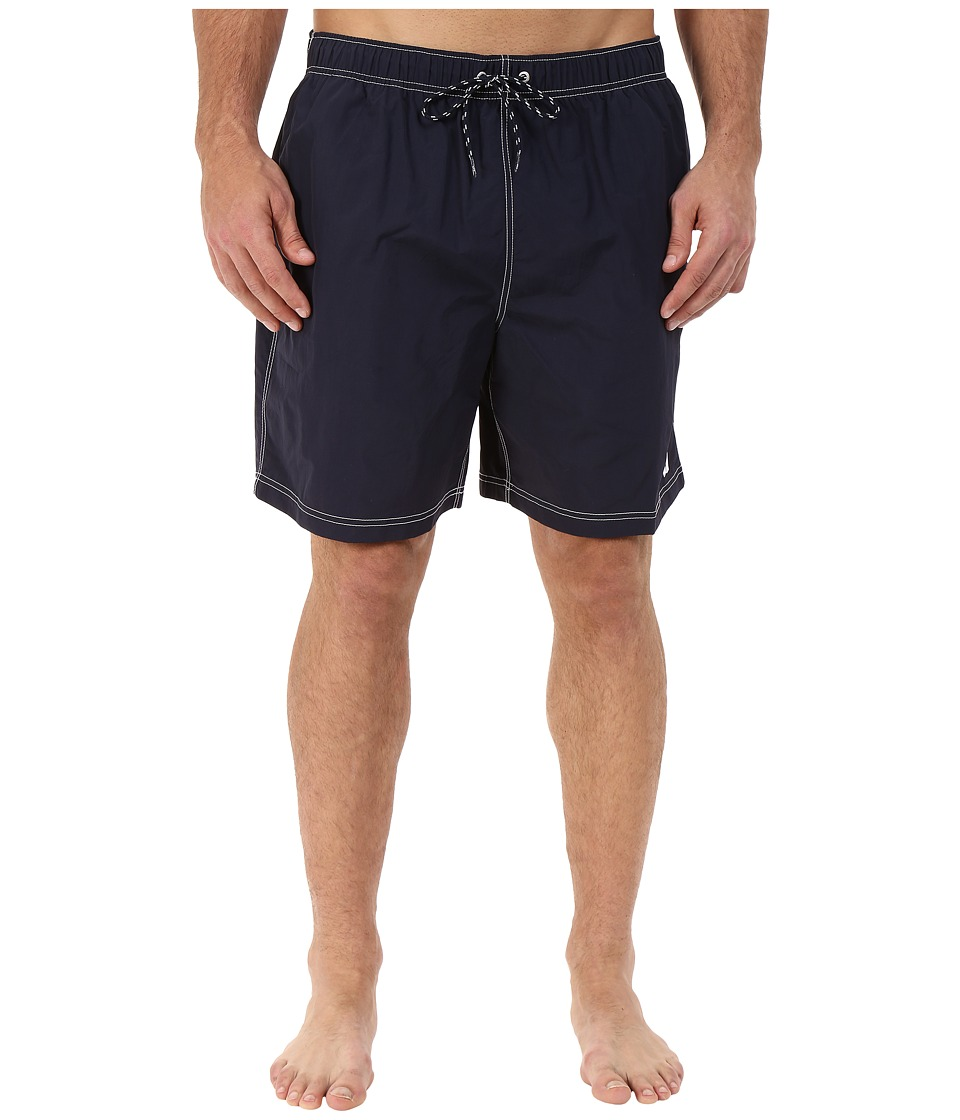 Nautica Big & Tall - Big Tall Quick Dry J Class Swim Trunk (Navy) Men's Swimwear