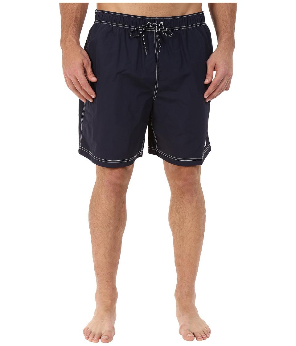 Nautica Big & Tall - Big Tall Quick Dry J Class Swim Trunk (Navy) Men's Swimwear