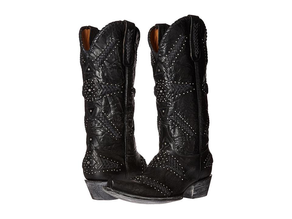 Old Gringo Arcangel (Black) Cowboy Boots