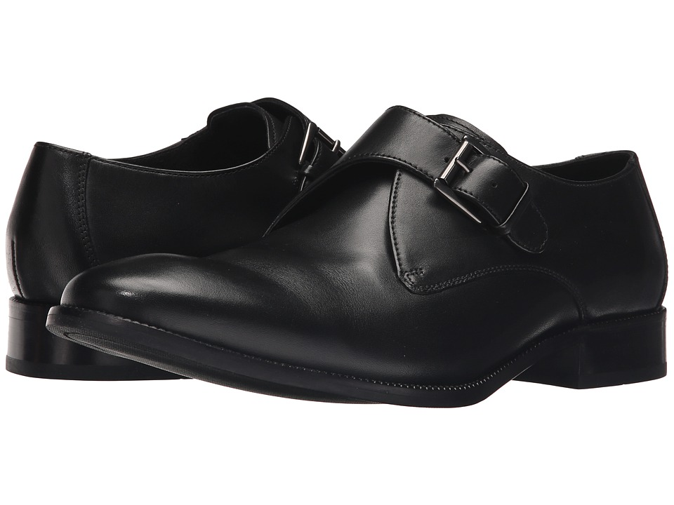 Cole Haan - Williams Monk (Black) Men's Shoes