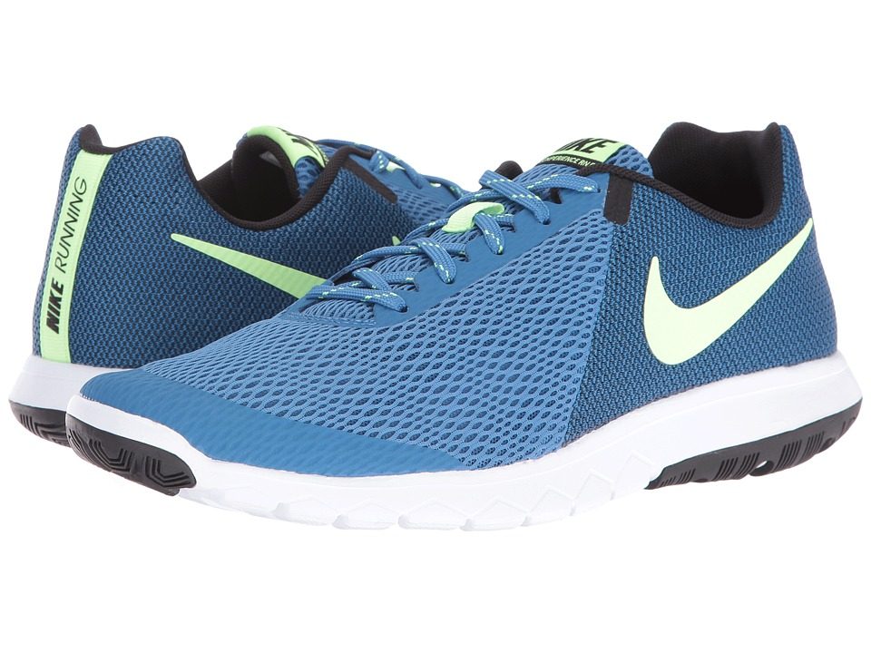 Nike - Flex Experience RN 5 (Star Blue/Ghost Green/Black/White) Men