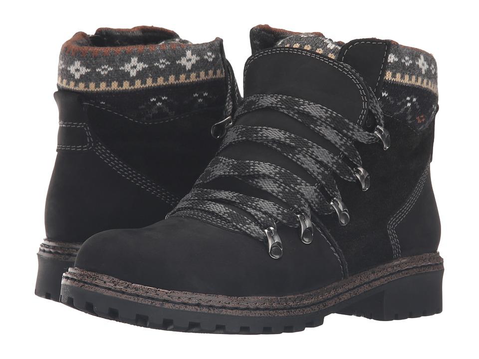 Blondo - Pearce Waterproof (Black Nubuck) Women's Boots