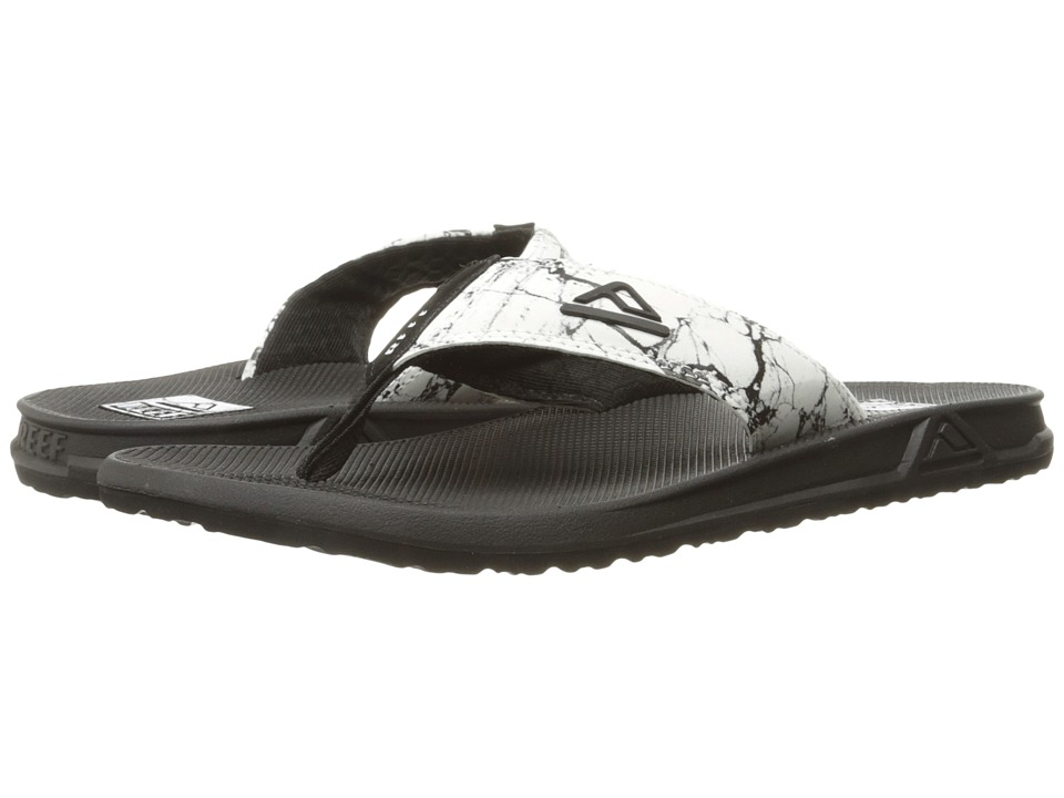 Reef - Phantom Prints (White Marble) Men's Sandals