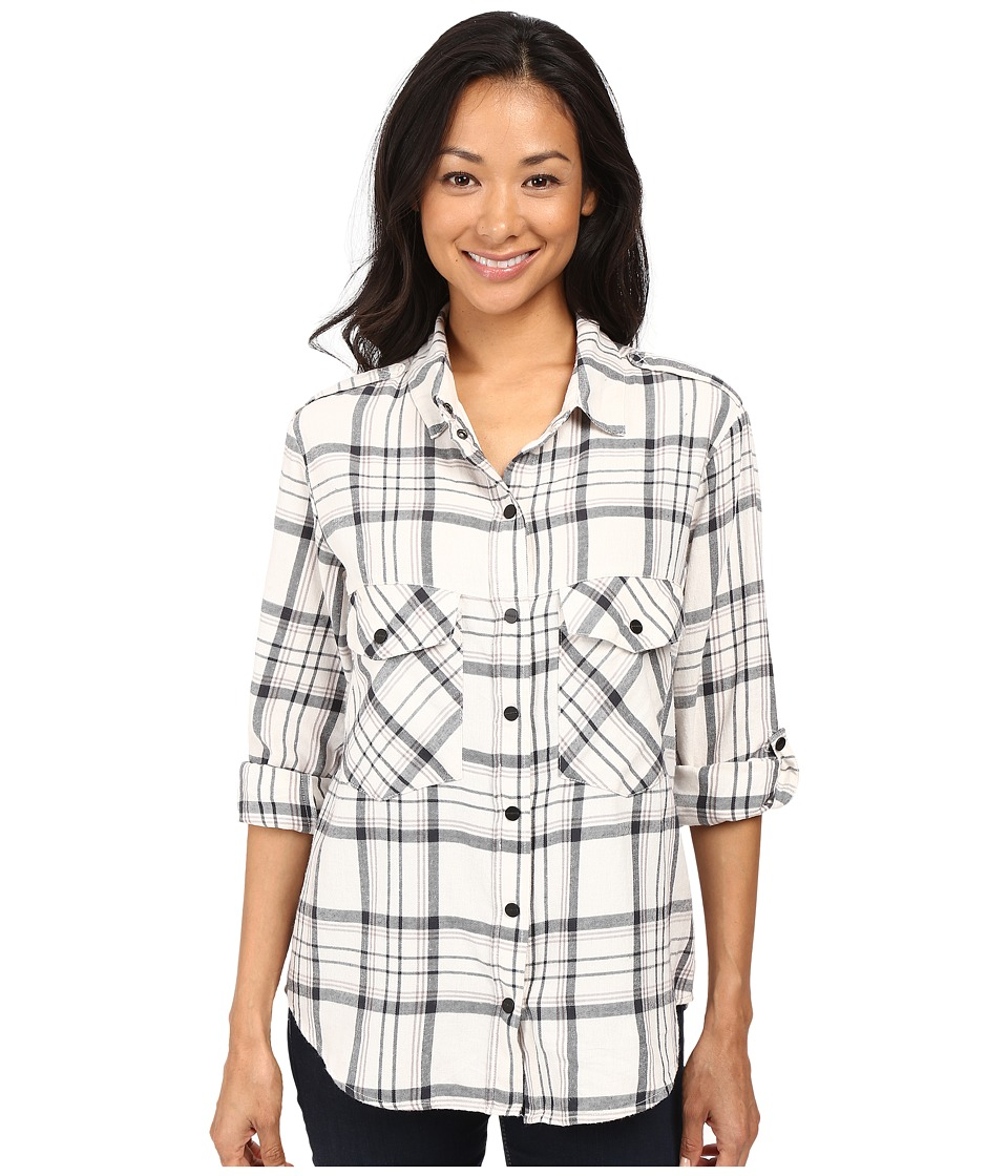 Sanctuary - Boyfriend Shirt (Iver Plaid) Women's Clothing