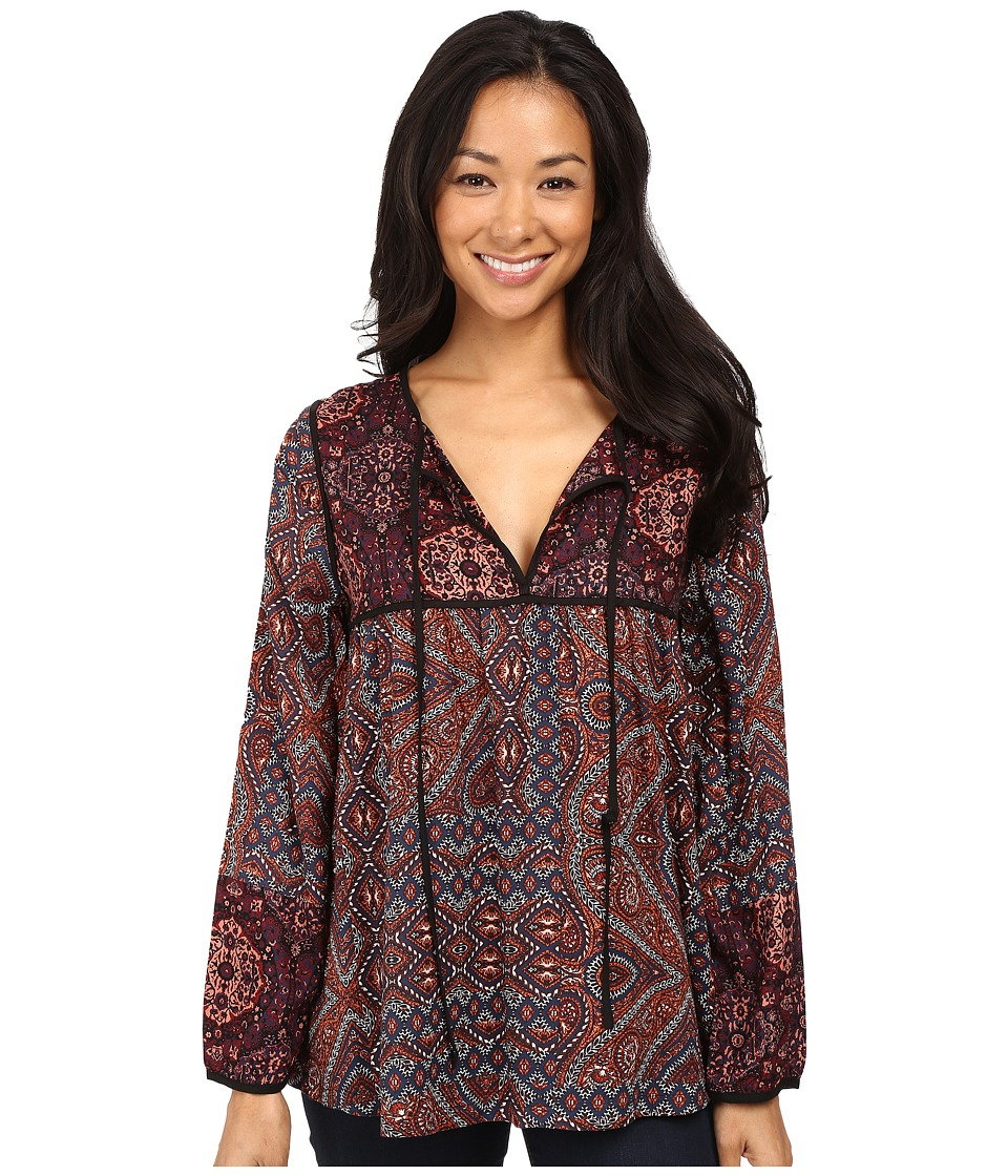 Sanctuary - Patchwork Belle Blouse (World Tapestry/Decoratif) Women's Blouse