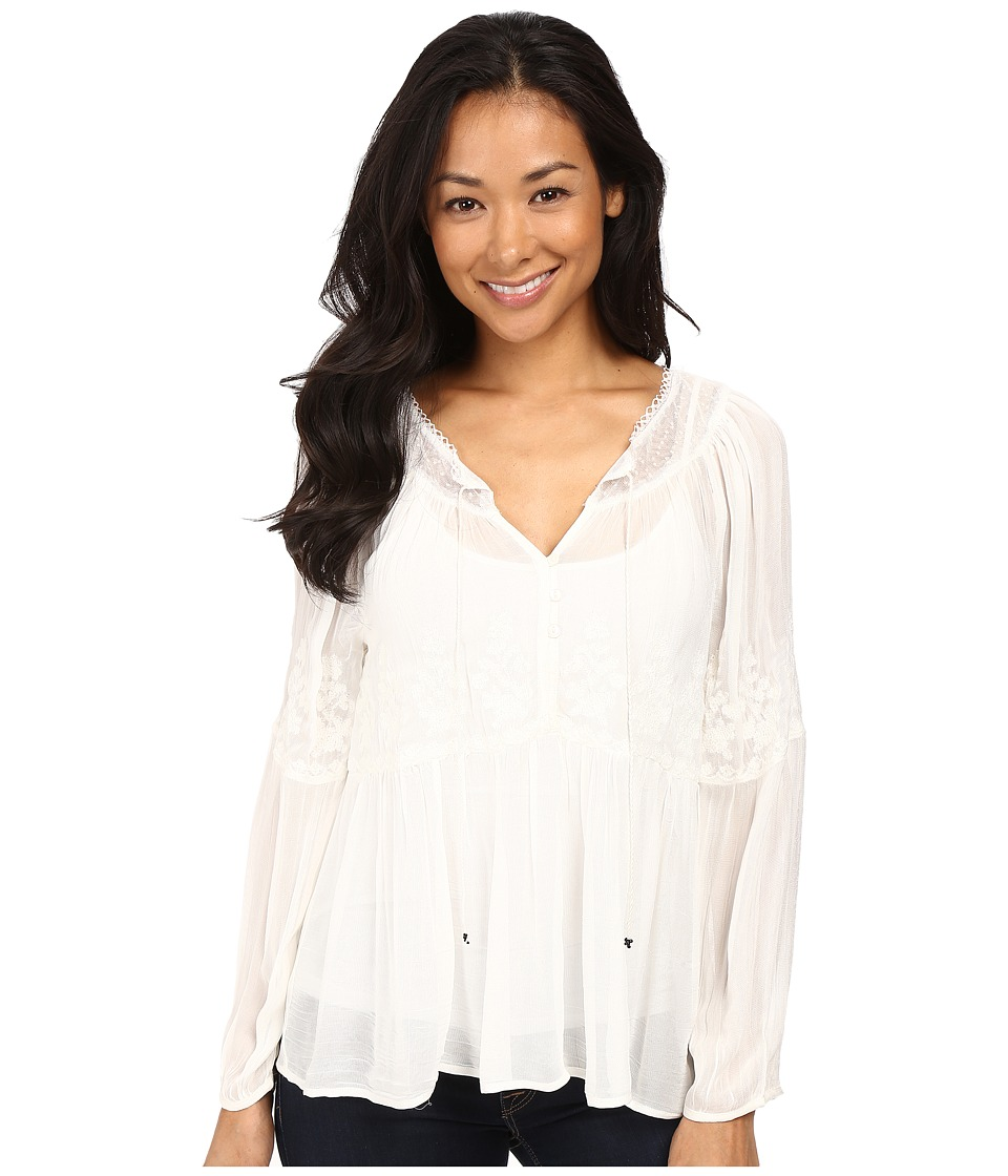 Sanctuary - Melody Blouse (Creme) Women's Blouse