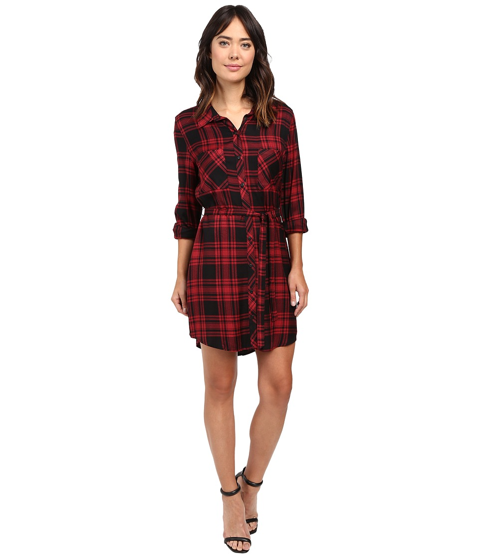 Sanctuary - Jordane Shirtdress (Dylan Plaid) Women's Dress