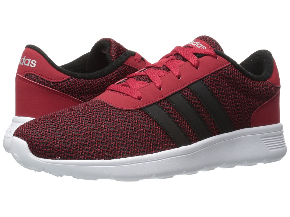adidas - Lite Racer (Power Red/Heather) Men's Shoes