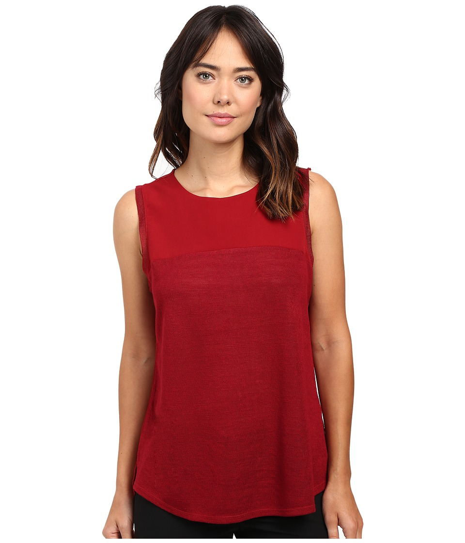 Sanctuary - Essential Shell T-Shirt (Cabernet) Women's T Shirt